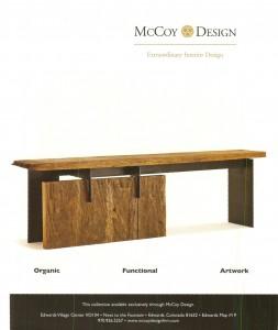 Sale on Rotson Design Console!!.  Custom piece. Sale price $2,850.