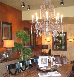Sale.  Below cost. Crystal and wrought iron chandelier. Sale $1,800
